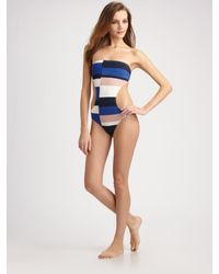 Marc By Marc Jacobs | Multicolor One-piece Monokini Swimsuit | Lyst