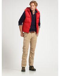 Polo Ralph Lauren | Natural Herringbone Cargo Pants for Men | Lyst