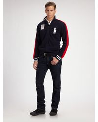 Polo Ralph Lauren | Blue Big Pony Track Jacket/england for Men | Lyst