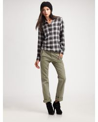Rag & Bone | Green Loose-fit Chino Pants | Lyst