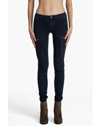 Rag & Bone - Blue Liverpool Denim Leggings - Lyst