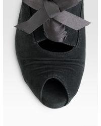 Ralph Lauren Collection - Black Sweater Pencil Skirt - Lyst