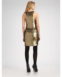 Robert Rodriguez | Metallic Sequined Tank Dress | Lyst