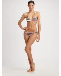 Rosa Cha | Multicolor Striped Bikini Bottom | Lyst