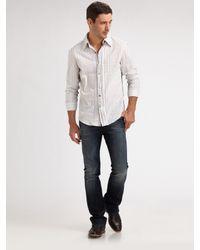 Royal Underground - White Inverse-pintuck Sportshirt for Men - Lyst