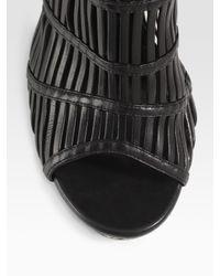 Alexander McQueen - Black Belted Crepe Jersey Kaftan - Lyst
