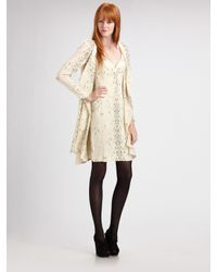 Brian Reyes | Natural Silk Cami Dress and Jacket | Lyst