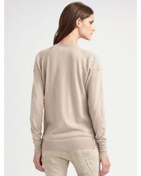 Burberry Prorsum - Multicolor Stretch Linen Slim Pants - Lyst