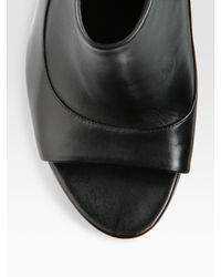 Camilla Skovgaard - Black Open-toe Ankle Boots - Lyst
