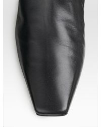 Dior | Black Flight Over-the-knee Boots | Lyst