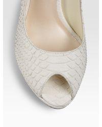 Dior - White Tulip Dress - Lyst