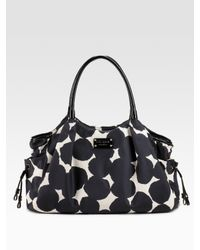 kate spade new york | Black Stevie Splodge Dot Baby Bag | Lyst