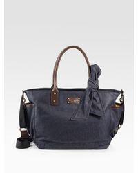 kate spade new york | Blue Dungarees Denim Baby Bag | Lyst