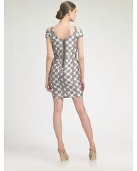Leifsdottir - Gray Paso Dot Dress - Lyst