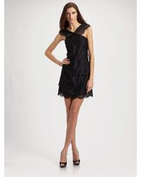 Leifsdottir | Black Flores Filigree Lace Dress | Lyst