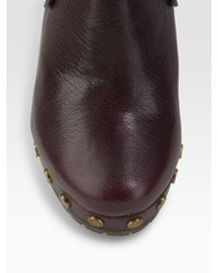 Marc By Marc Jacobs - Purple Slingback Clogs - Lyst