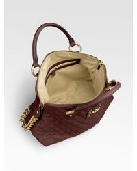 Marc Jacobs - Brown Quilting The Standard Bag - Lyst