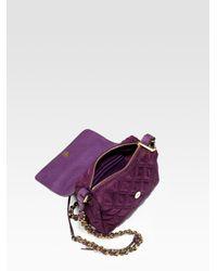 Marc Jacobs   Purple Rubik Debbie Quilted Nylon Mini Bag   Lyst