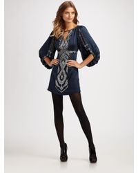 Nanette Lepore | Blue Star Cross Dress | Lyst