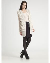 Rebecca Taylor | White Layered Ruffled Vest | Lyst