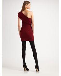 Robert Rodriguez - Purple Sharon Tiered One Shoulder Dress - Lyst