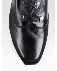 Stuart Weitzman   Black Combat Tall Boots   Lyst