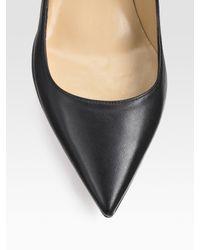 Valentino | Black Rosette Punto Dress | Lyst