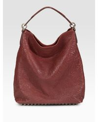 Alexander Wang | Red Darcy Slouchy Hobo | Lyst