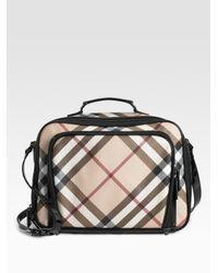 Burberry | Natural Check Diaper Camera Bag | Lyst