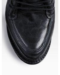 Current/Elliott - Black Easy Trouser Jeans - Lyst