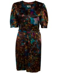 Erdem | Multicolor Zoffany Button Front Dress | Lyst