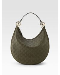 Gucci - Green Gg Twins Medium Hobo - Lyst