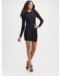 Lisa Marie Fernandez | Black The Julia Scuba-inspired Dress | Lyst