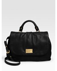 Marc By Marc Jacobs | Black Classic Q High Schooly Bag | Lyst