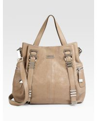 Michael Kors | Brown Hadley Darrington Large Leather Tote | Lyst