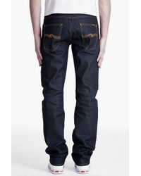 Nudie Jeans | Purple Average Joe Dry Organic Jeans for Men | Lyst