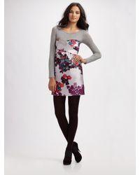 Tibi | Black Madeline Strapless Dress | Lyst
