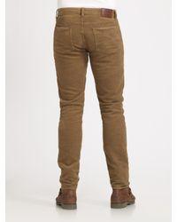 Polo Ralph Lauren - Brown Slim-fit Jeans for Men - Lyst