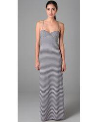 Mara Hoffman | White Bustier Long Dress | Lyst