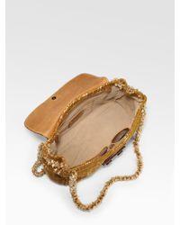 Prada - Yellow Tweed Shoulder Bag - Lyst