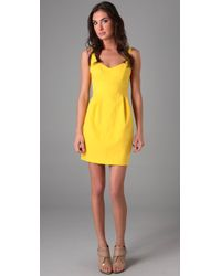 Nanette Lepore | Yellow Blown Away Dress | Lyst