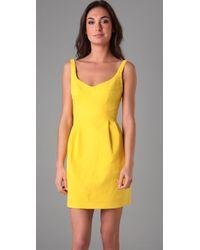 Nanette Lepore - Yellow Blown Away Dress - Lyst