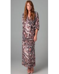 Tucker | Brown Classic Long Dress | Lyst