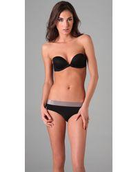 Calvin Klein | Black Envy Sexy Plunge Strapless Bra | Lyst