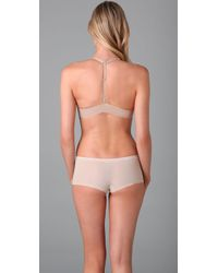 Calvin Klein - Natural Perfectly Fit Front Fastening Multiway Bra - Lyst