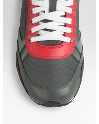 DIESEL   Metallic Harold Keep Low-top Sneakers for Men   Lyst