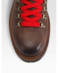 Frye   Brown Rogan Hiking Boots for Men   Lyst
