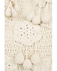 Stella McCartney - Natural Falabella Large Crochet Bag - Lyst
