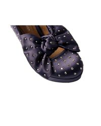 KG by Kurt Geiger | Blue Navy Eucalyptus Satin Bow Heels | Lyst