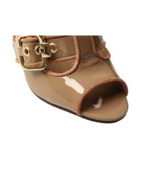 KG by Kurt Geiger - Brown Taupe Jungle Sandals - Lyst